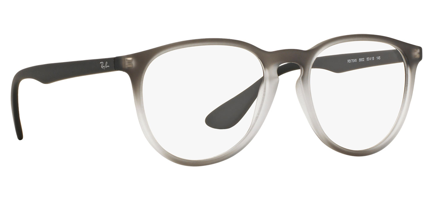 cc6d413eb0 Ray-Ban RB7046 Erika Optics Glasses - Rubber Grey Gradient ...