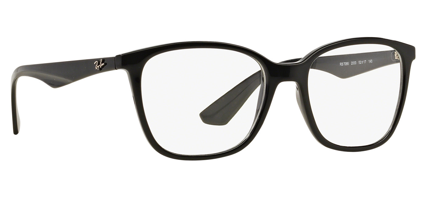baa65e9b42 Ray-Ban RB7066 Glasses - Shiny Black - Tortoise+Black