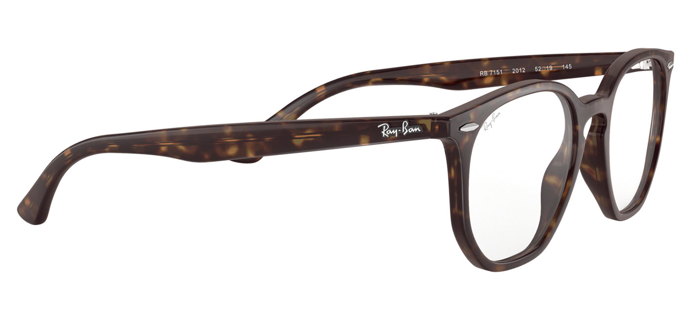 9bf6ceb41d4 Ray-Ban RB7151 Hexagonal Optics Glasses - Havana - Tortoise+Black