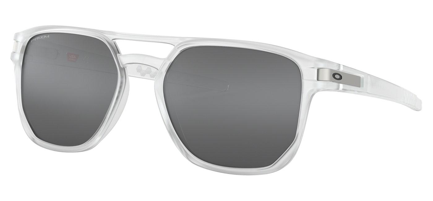 5529eb8ef36 Oakley Latch Beta Sunglasses - Matte Clear   Prizm Black - Tortoise+ ...