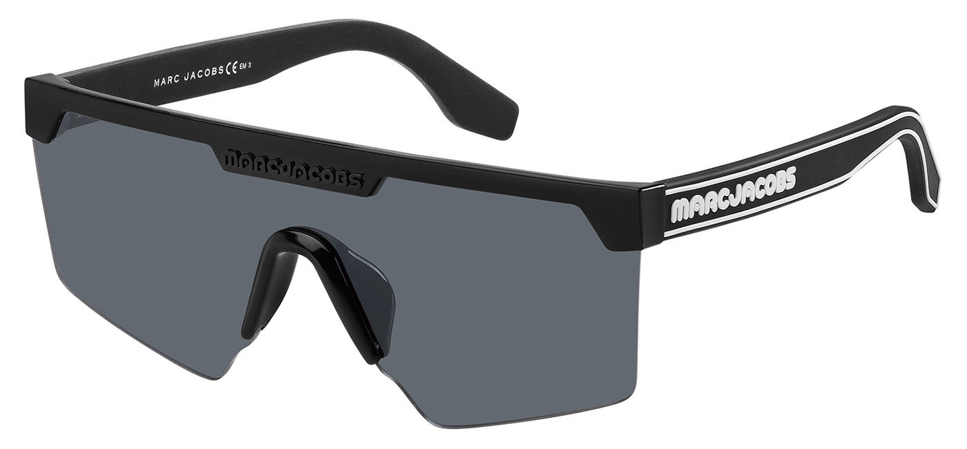 2313a0702e1f ... Marc Jacobs 355/S Sunglasses – Black / Grey. MARC355S-0807IR_raw1