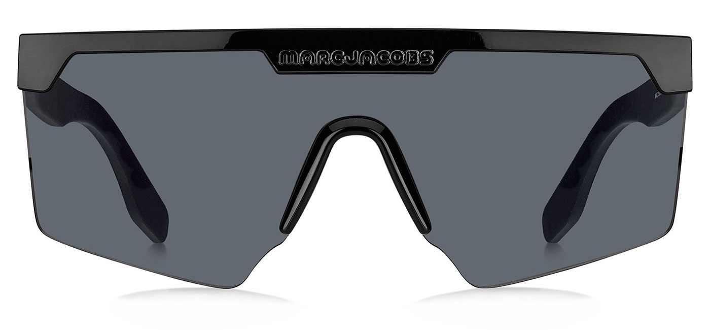 31f2a20761fb Marc Jacobs 355/S Sunglasses - Black / Grey - Tortoise+Black