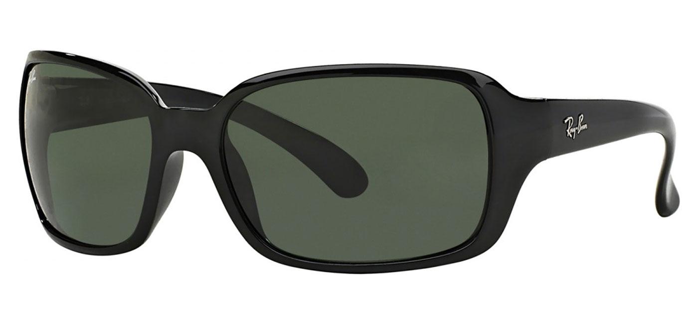 9a7167cd88f Ray-Ban RB4068 Sunglasses - Black   Green - Tortoise+Black