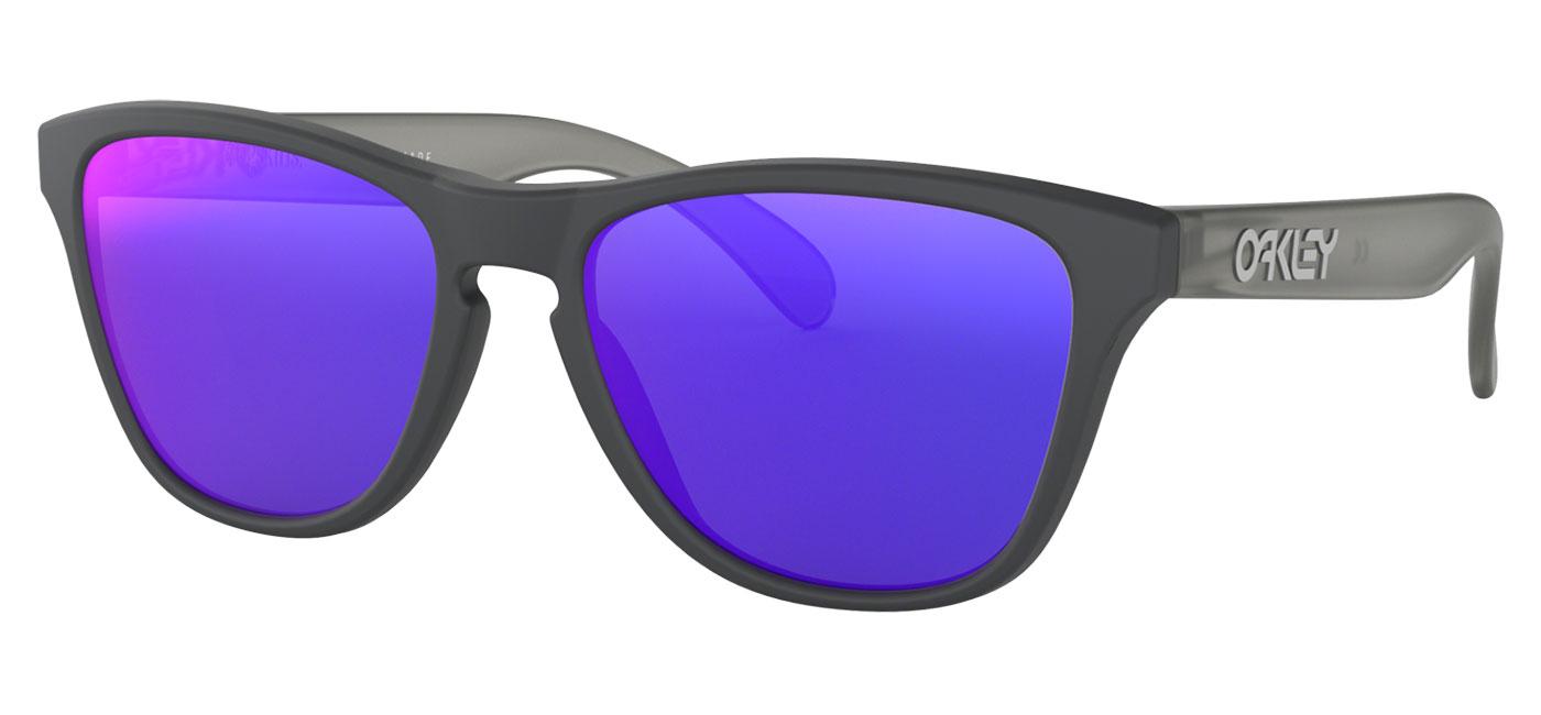 f7f1ec7b1df Oakley Frogskins XS Sunglasses - Matte Carbon   Positive Red Iridium ...