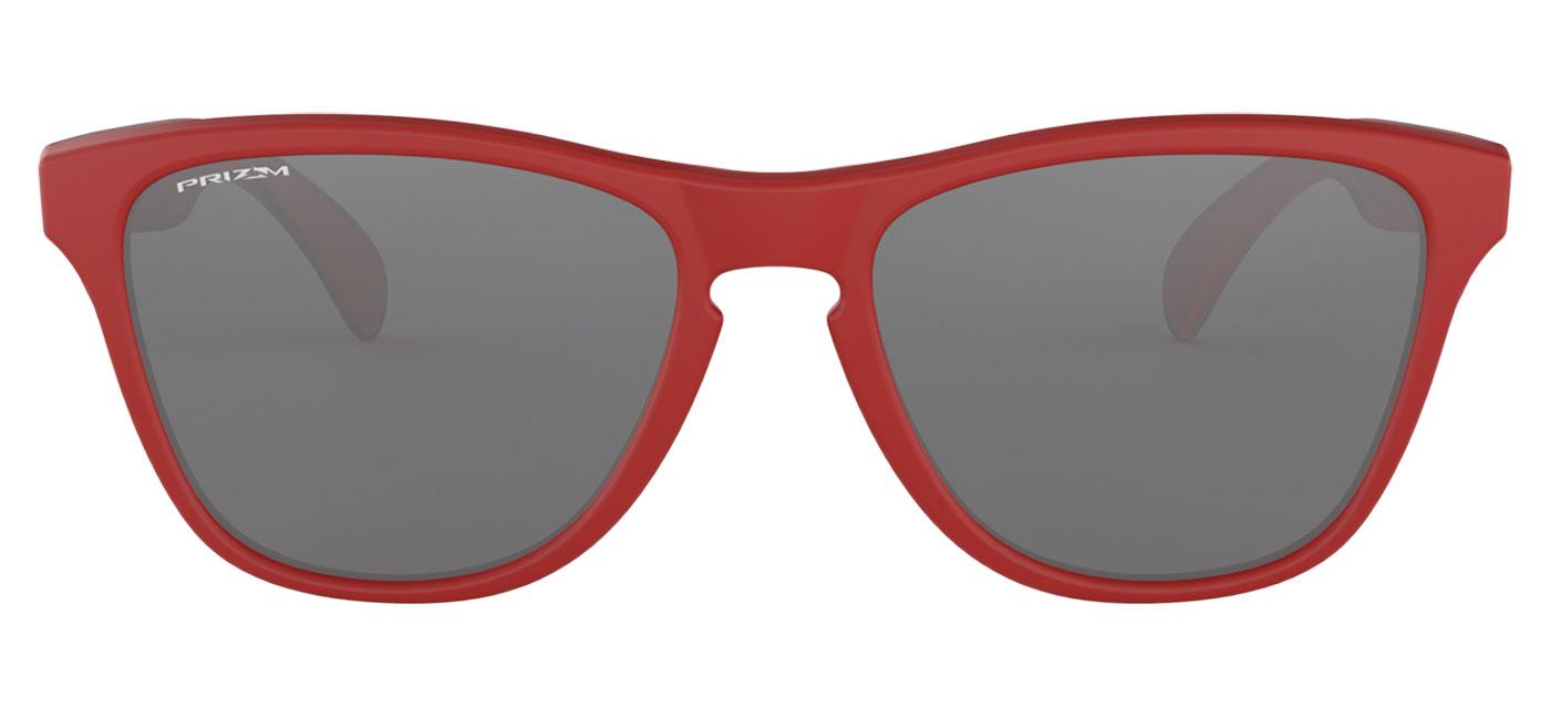 47d4c1210ffe7 Oakley Frogskins XS Sunglasses - Matte Red   Prizm Black - Tortoise+Black