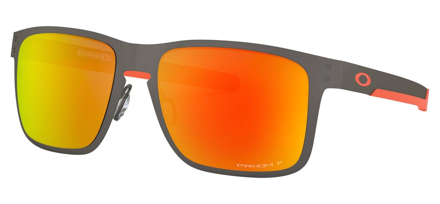 ef35d7df7a2 ... Oakley Holbrook Metal Sunglasses – Matte Gunmetal   Prizm Ruby  Polarised. prev. next. 0OO4123  412322 030A. 0OO4123  412322 000A