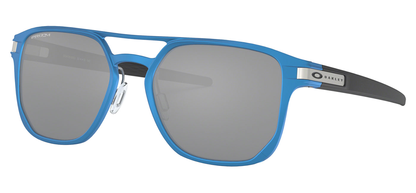 70e77de0c6 ... Oakley Latch Alpha Sunglasses – Matte Sapphire Blue   Prizm Black.  prev. next. 0OO4128  412803 030A. 0OO4128  412803 000A