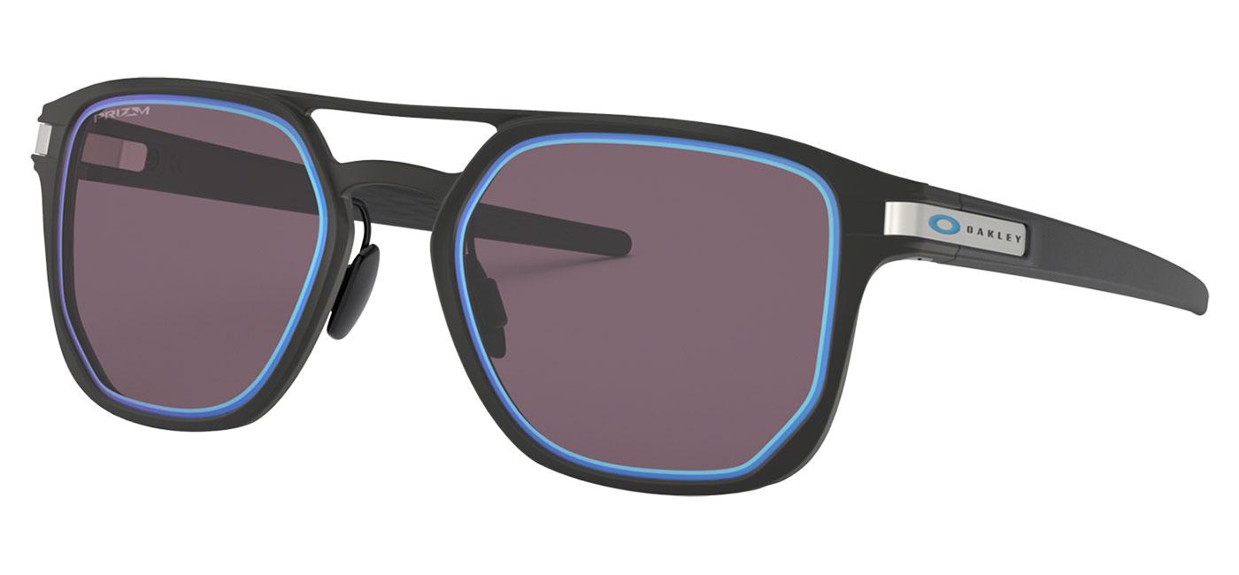 3fb64ddea2a ... Oakley Latch Alpha Sunglasses – Matte Black   Prizm Grey Sapphire Alt  Iridium. prev. next. 0OO4128  412806 030A