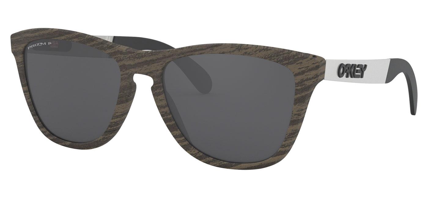 7e73b1ab63 ... Oakley Frogskins Mix Sunglasses – Woodgrain   Prizm Black Polarised.  prev. next. 0OO9428  942807 030A. 0OO9428  942807 000A