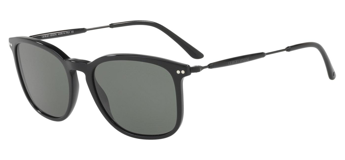 f46d2a38c16 ... Giorgio Armani AR8098 Prescription Sunglasses – Black   Green Polarised.  prev. next. AR8098-50179A product1