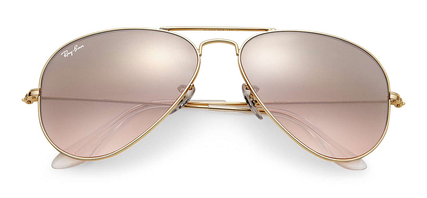 Rb3025 Sunglasses black Pink Silver Ban Tortoise Aviator Brown Mirror Gold Ray Gradient 2EHIWD9