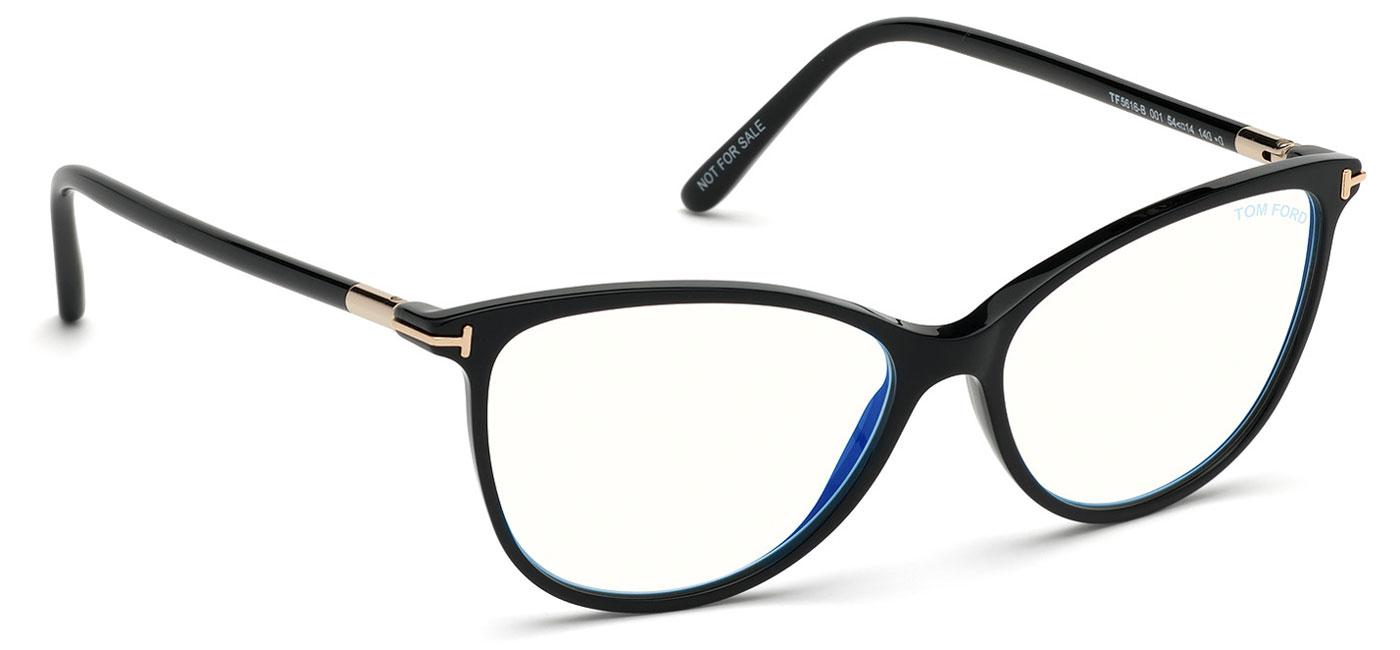 Tom Ford Ft5616 B Glasses Black Tortoise Black