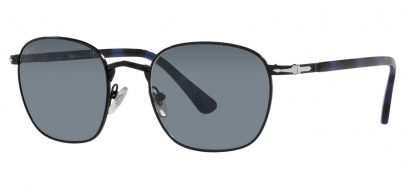 Persol PO2476S Sunglasses - Black / Light Blue
