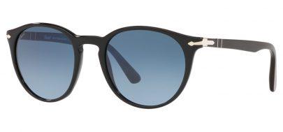 Persol PO3152S Sunglasses - Black / Blue Gradient