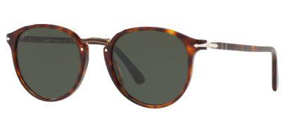 Persol PO3210S Sunglasses - Havana / Green