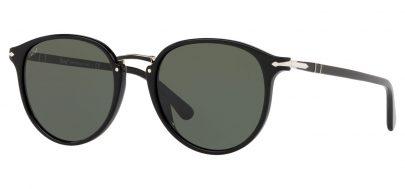 Persol PO3210S Sunglasses - Black / Green
