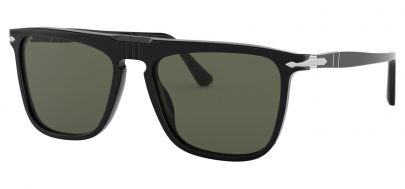 Persol PO3225S Sunglasses - Black / Green