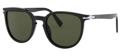 Persol PO3226S Sunglasses - Black / Green