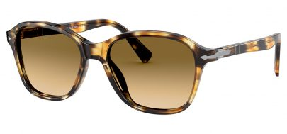 Persol PO3244S Sunglasses - Striped Honey / Brown Gradient