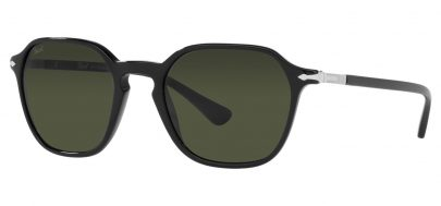 Persol PO3256S Sunglasses - Black / Green