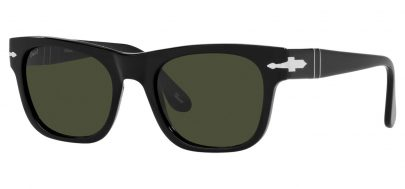 Persol PO3269S Sunglasses - Black / Green