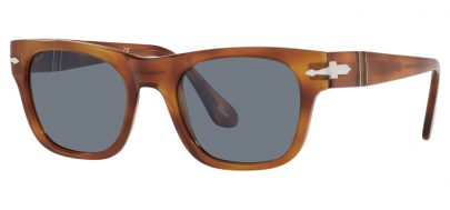 Persol PO3269S Sunglasses - Terra di Siena / Light Blue