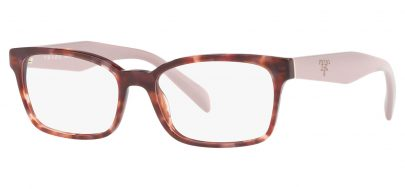 Prada PR18TV Glasses - Pink Havana