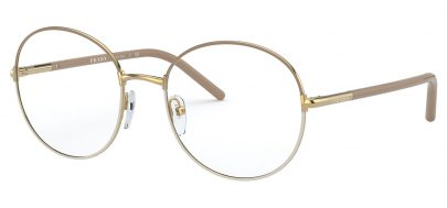 Prada PR55WV Glasses - Beige & White