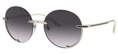 Bvlgari BV6153 Sunglasses - Pale Gold / Grey Gradient