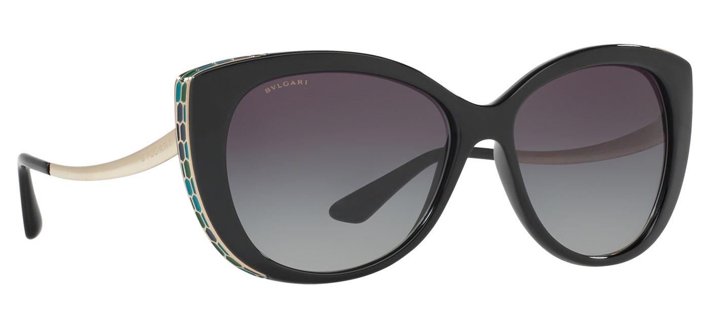 Bvlgari BV8178 Sunglasses – Black / Grey Gradient 3