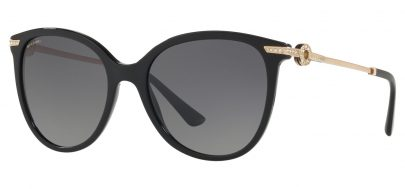 Bvlgari BV8201B Sunglasses - Black / Grey Gradient Polarised