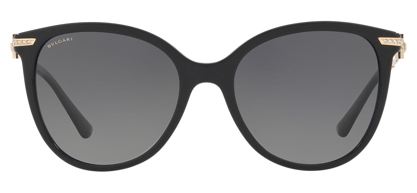 Bvlgari BV8201B Sunglasses – Black / Grey Gradient Polarised 2