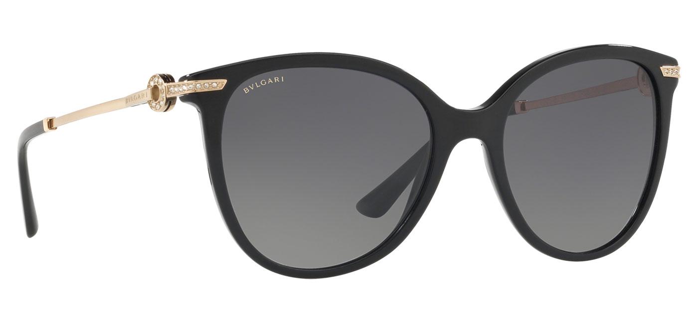 Bvlgari BV8201B Sunglasses – Black / Grey Gradient Polarised 3