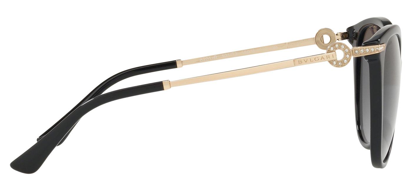 Bvlgari BV8201B Sunglasses – Black / Grey Gradient Polarised 4