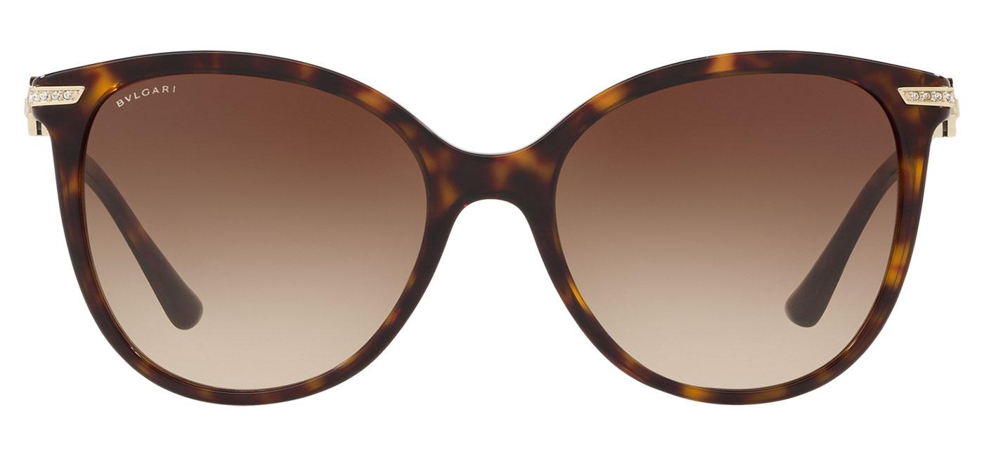 Bvlgari BV8201B Sunglasses – Dark Havana / Brown Gradient 2