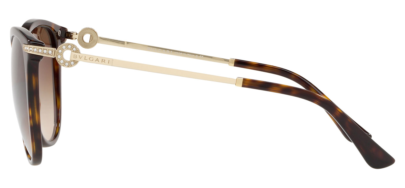 Bvlgari BV8201B Sunglasses – Dark Havana / Brown Gradient 5