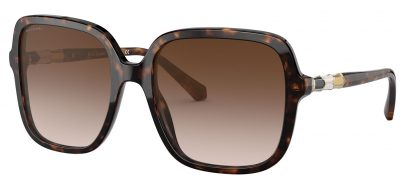Bvlgari BV8228B Prescription Sunglasses - Havana / Brown Gradient