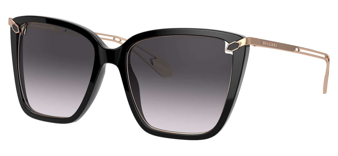 Bvlgari BV8232 Sunglasses – Black / Grey Gradient 1