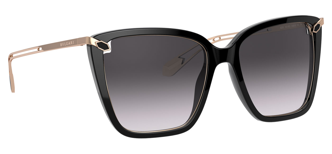 Bvlgari BV8232 Sunglasses – Black / Grey Gradient 3