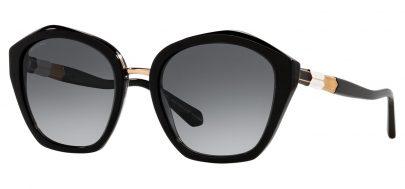 Bvlgari BV8234 Sunglasses - Black / Grey Gradient