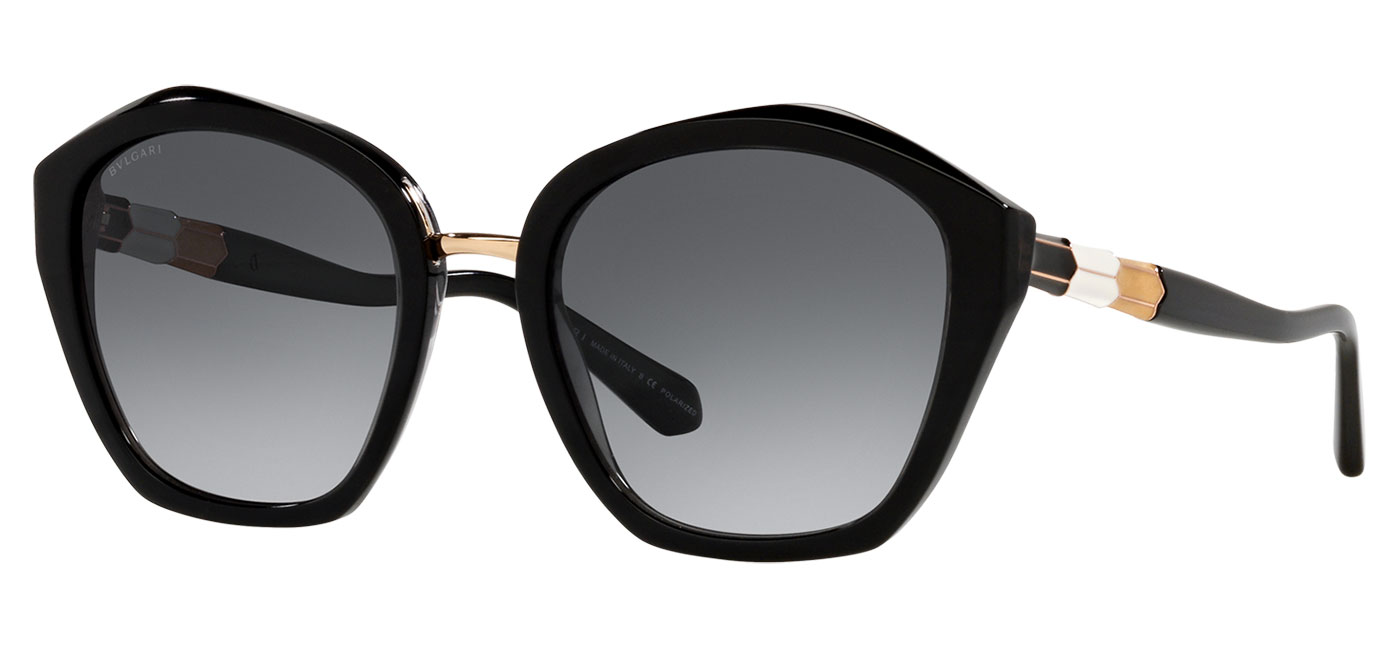 Bvlgari BV8234 Sunglasses – Black / Grey Gradient 1