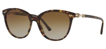 Bvlgari BV8235 Sunglasses - Havana / Brown Gradient Polarised