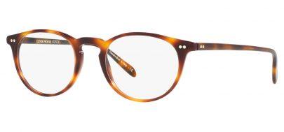 Oliver Peoples OV5004 Riley-R Glasses - Dark Mahogany