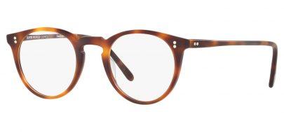 Oliver Peoples OV5183 O'Malley Glasses - Semi Matte Dark Mahogany