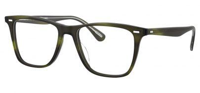 Oliver Peoples OV5437U Ollis Glasses - Semi Matte Emerald Bark