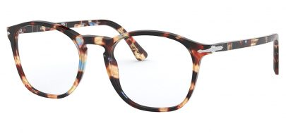Persol PO3007VM Glasses - Azure-Brown