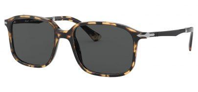 Persol PO3246S Prescription Sunglasses - Light Havana / Dark Grey