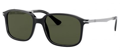 Persol PO3246S Prescription Sunglasses - Black / Green