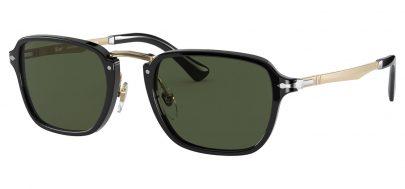 Persol PO3247S Prescription Sunglasses - Black / Green