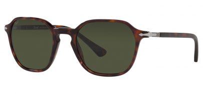 Persol PO3256S Prescription Sunglasses - Havana / Green